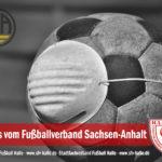 FSA:  Saisonabbruch Punktspielbetrieb 2020/21 auf Landesebene im Herrenbereich