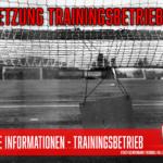 """""""Bundesnotbremse"""" bremst auch Fußballtraining (weitgehend) aus: Aktuelles Hygienekonzept vor Anpassung"""